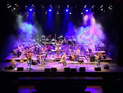 Orchestrer Sonoton mit Peufla Rock Band