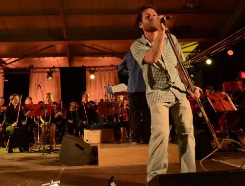Peufla mit Sänger Pasolli - Live in conzert